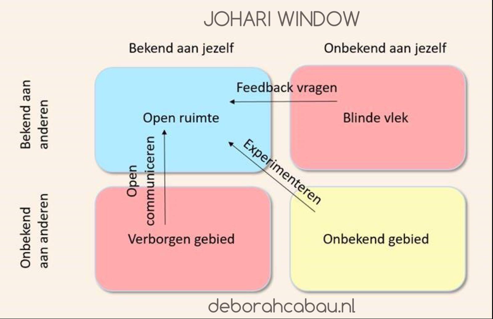 Johari Window: inzet bij astrocoaching