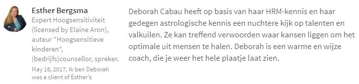 Horoscoopboeken door Deborah Cabau