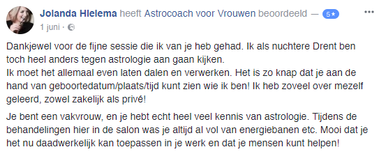 Astrologie: boek een consult of workshop