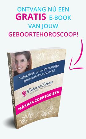 Gratis e-book van jouw geboortehoroscoop