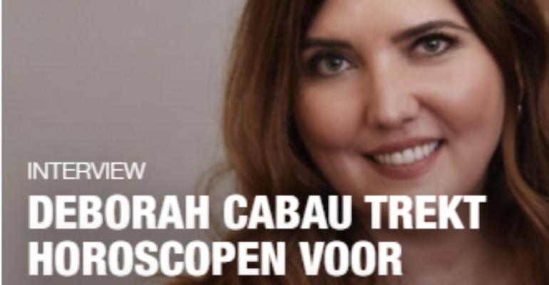 Deborah Cabau trekt horoscopen voor bn'ers, ondernemende vrouwen en LINDA.nl